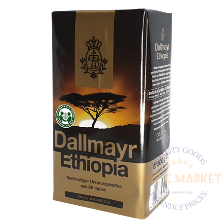 Dallmayr Ethiopia jahvatatud kohv 500 gr