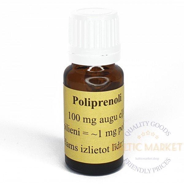 Polyprenols in vegetable oil 50ml