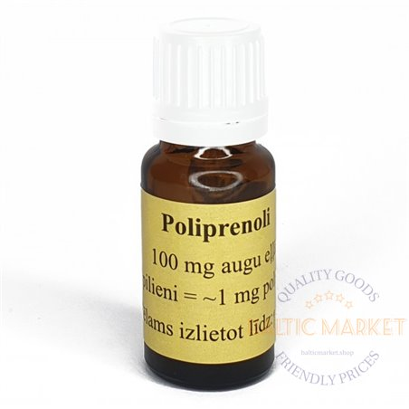 Polyprenols in vegetable oil 50ml