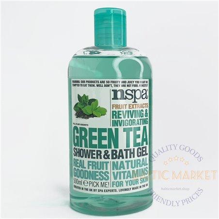 Гель для душа nspa зеленый чай 500мл