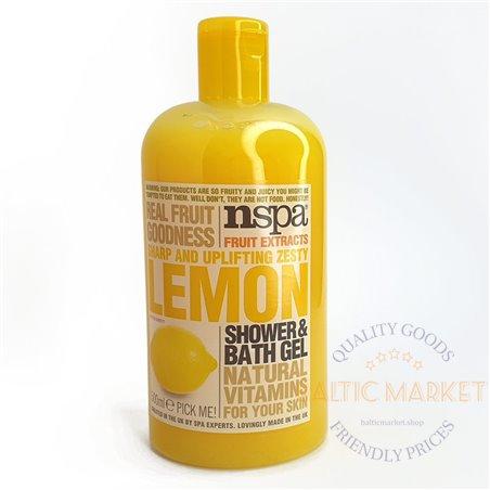 Shower gel nspa lemon 500ml