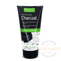 BEAUTY FORMULAS Charcoal Detox facial cleanser 150ml