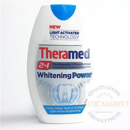 Theramed Whitening Power dantų pasta su dozatoriumi 75ml