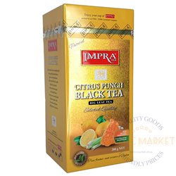 Impra citrus punch black tea 200gr