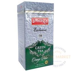 Impra green tea exclusive orange pekoe 200 gr