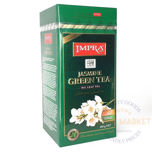 Импра чай зеленый с жасмином 200 гр