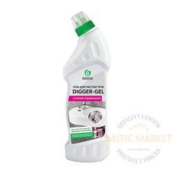 DIGGER-GEL - средство для прочистки канализационных труб - 750 мл