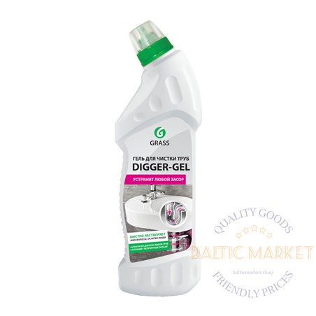 DIGGER-GEL - sewer pipe cleaner - 750 ml
