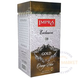 Impra must suureleheline tee GOLD 200g.