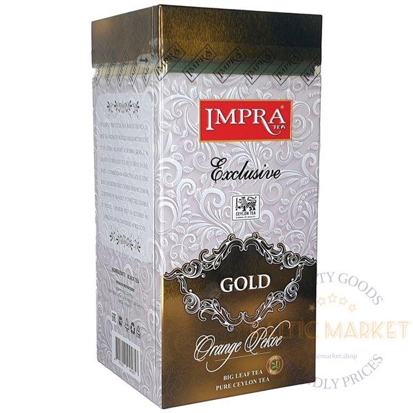 Impra gold black tea 200gr
