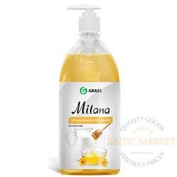 Milana Milk & Honey - liquid soap with honey - milk scent - 500ml