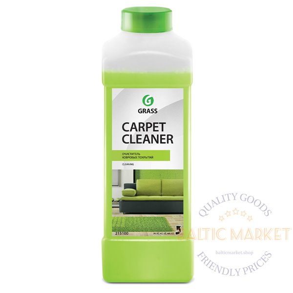 Carpet Cleaner - low-foaming carpet cleaner - 1 liter