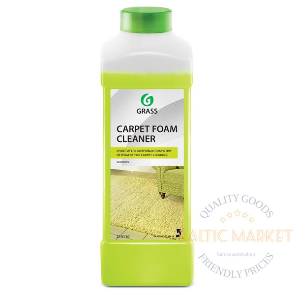Carpet Foam Cleaner a strong foaming carpet cleaner 1 liter