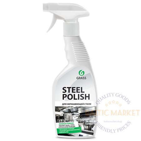 Steel Polish cleaner for stainless steel surfaces 600 ml