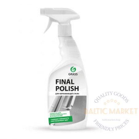 Final Polish līdzeklis metālisku virsmu tīrīšanai, pulēšanai 600 ml