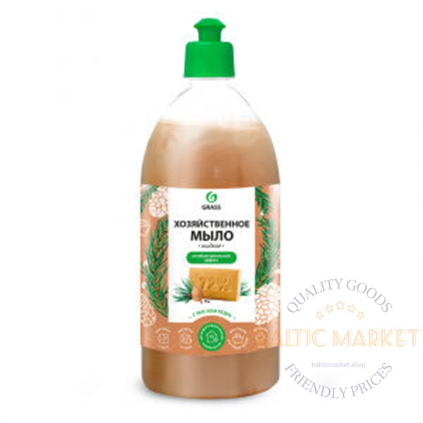 Мыло жидкое хозяйственное с маслом кедра 1000 мл