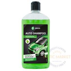 AUTO SHAMPOO APPLE автошампунь для ручной мойки с ароматом зеленого яблока 500 мл