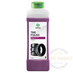 Tire Polish 1:6 professional rubber blackener with a wet tire effect 1 liter