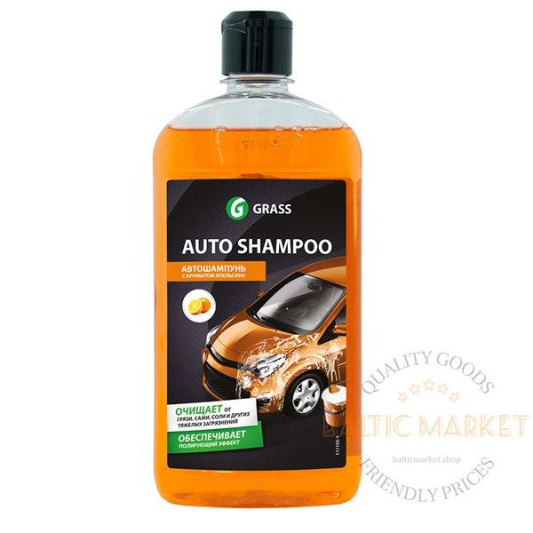 AUTO SHAMPOO ORANGE oranži aroomiga autošampoon, käsitsi pesemiseks 500 ml