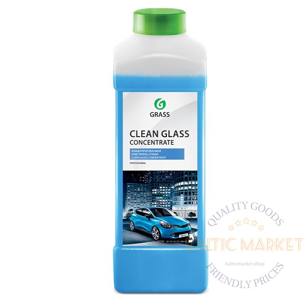 CLEAN GLASS concentrate glass and mirror cleaner 1L