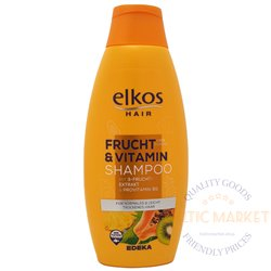 Elkos šampūnas su vaisių ekstraktais ir vitaminais Frucht Vitamin 500 ml