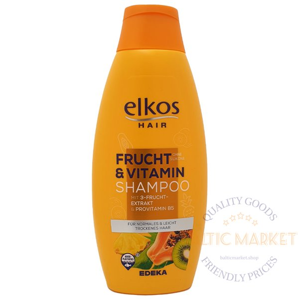Elkos shampoo with fruit extracts and vitamins 500 ml