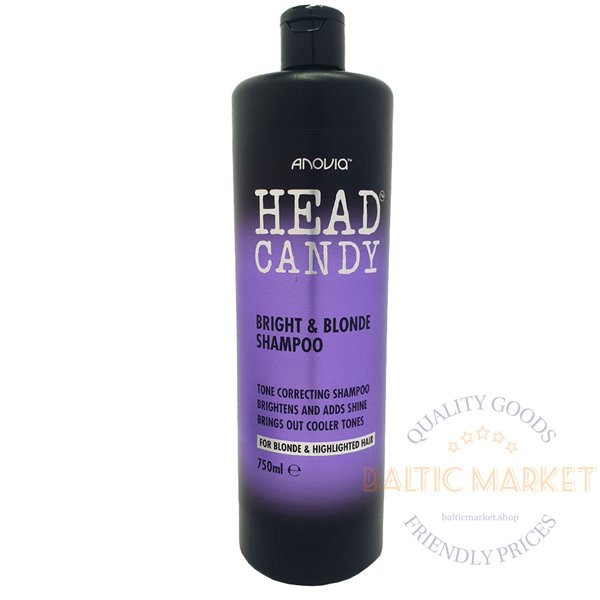 Anovia shampoo for blonde hair Head Candy 750 ml