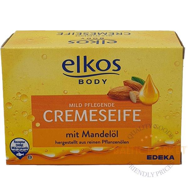 Elkos мыло для рук с миндальным маслом 150 g