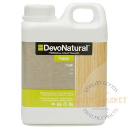 DevoNatural Polish protection for varnished parquet, wood, bamboo and cork floors 1l
