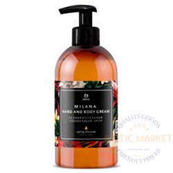 Milana Spring Bloosom käte- ja kehakreem 300 ml