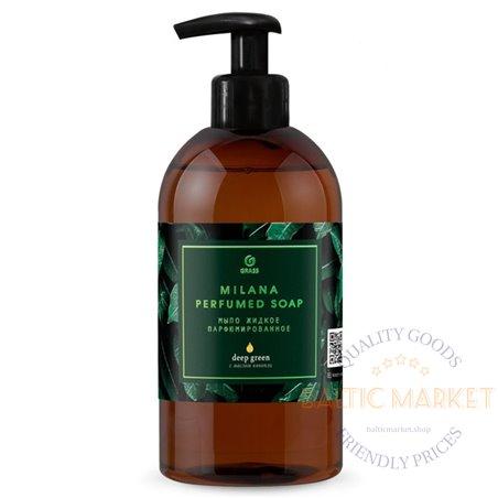 Мыло жидкое парфюмированное Milana Green Deep 300 мл