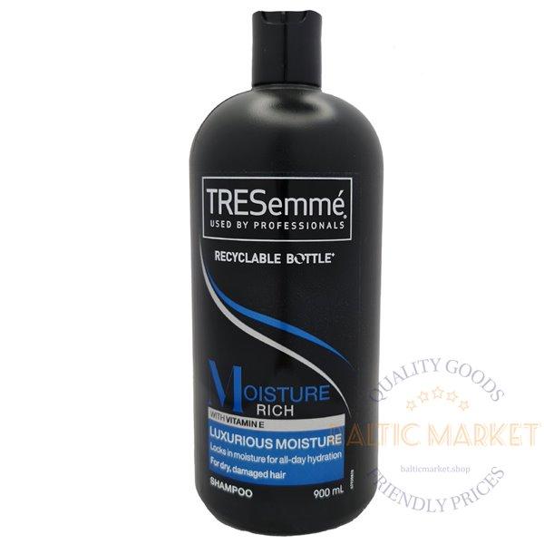 TRESemme plaukų šampūnas Moisture Rich su vitaminu E 900 ml
