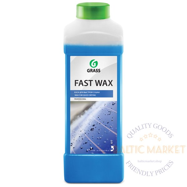Fast Wax- car wax for faster car drying - 1 liter