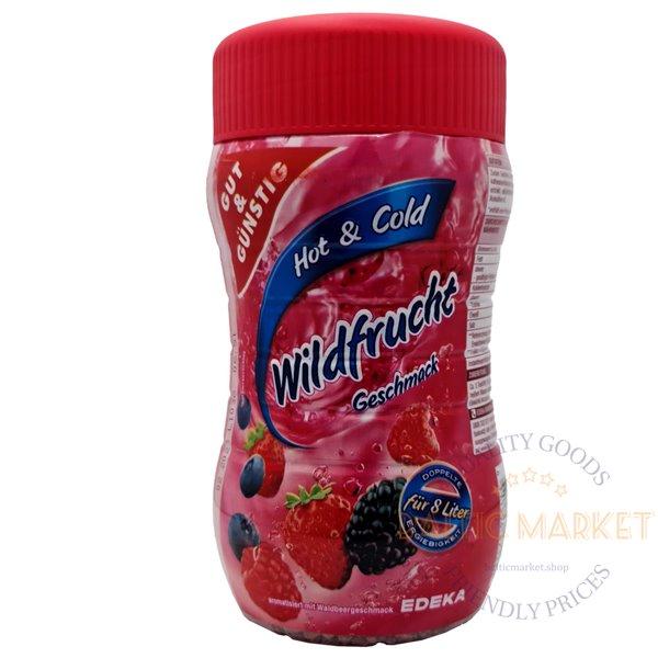 Edeka granular tea with wild berry flavor 400 gr