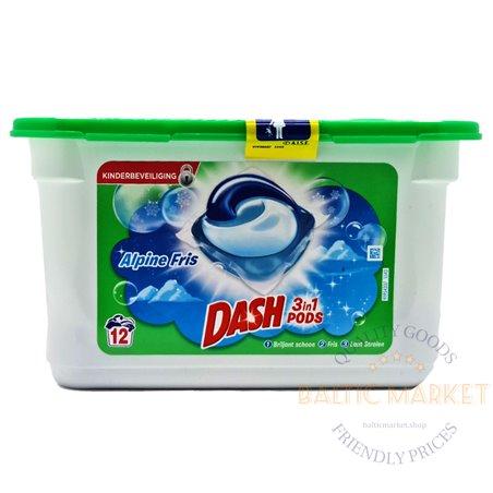 Dash kapsulas veļas mazgāšanai Alpine universālās 12 gab.