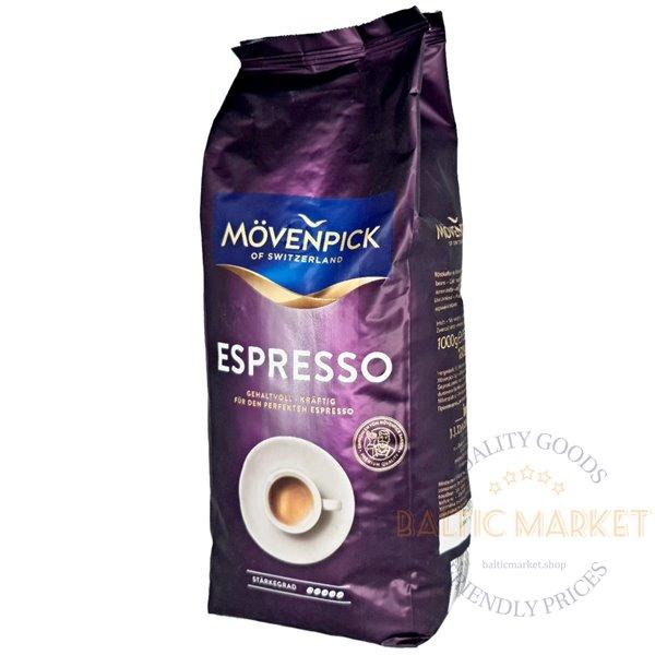 Movenpick Espresso кофейные зерна 1 кг