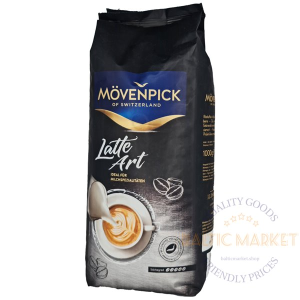 Movenpick Latte Art coffee beans 1 kg