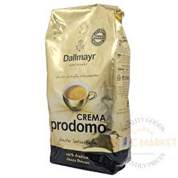 Dallmayr Prodomo Crema kohvioad 1 kg