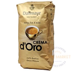 Dallmayr Crema d'ORO kavos pupelės 1 kg
