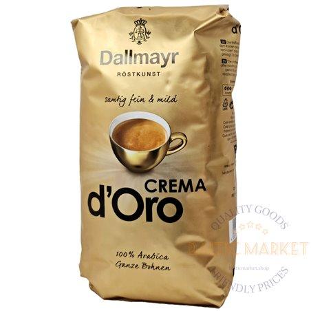 Dallmayr Crema d'ORO кофейные зерна 1 кг