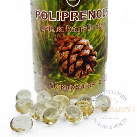 Polüproprenoolid kapslites 50 tk