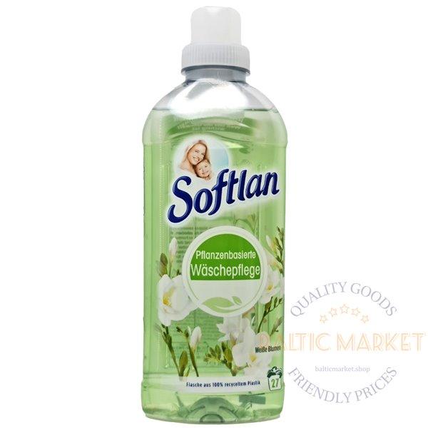 Softlan кондиционер для белья с ароматом белых цветов 650 мл