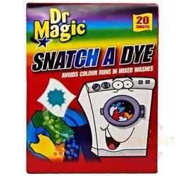Dr. Magic салфетки впитывающие краску и грязь 20 шт.