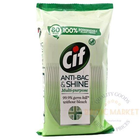 CIF antibakteriaalsed salvrätikud 80 tk.