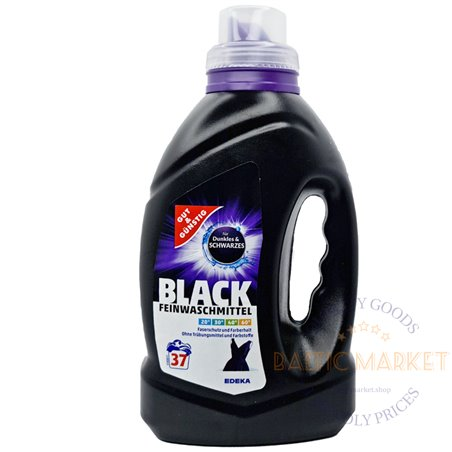 Black laundry detergent for dark clothes 37 washes