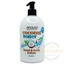 Anovia losjonas kūnui ir rankoms coconut water 500 ml
