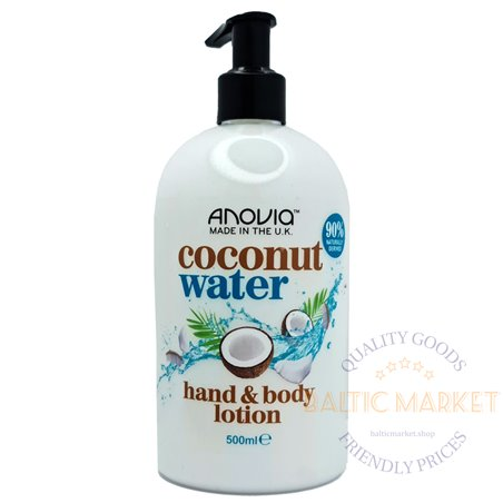 Anovia лосьон для тела и рук coconut water 500 ml