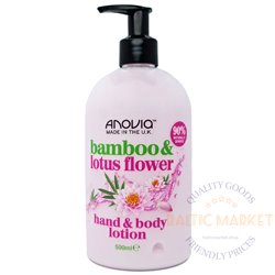 Anovia лосьон для тела и рук bamboo lotus flower 500 ml