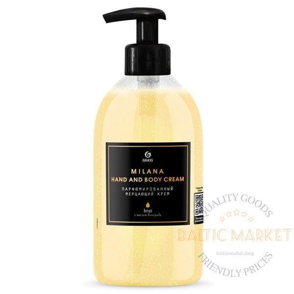 Grass Milana Brut perfumed radiant hand and body cream 300 ml