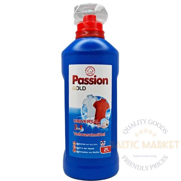 Passion Gold universal laundry detergent 2l